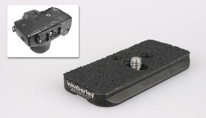 Camera plate