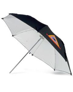 PHOTOFLEX Paraply / Blitz / Halogen / Hvit / Justerbar / Ø-76 cm [ADW30]